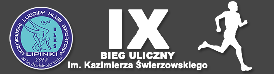 Bieg uliczny im. Kazimierza Świerzowskiego w Lipinkach